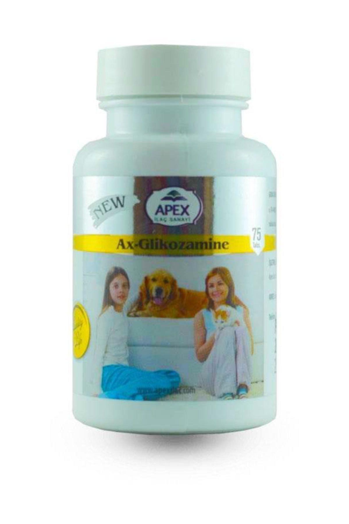 Apex Kedi Ve Köpekler Için Glikozamine Eklem Güçlendirici Tablet 75adet 1