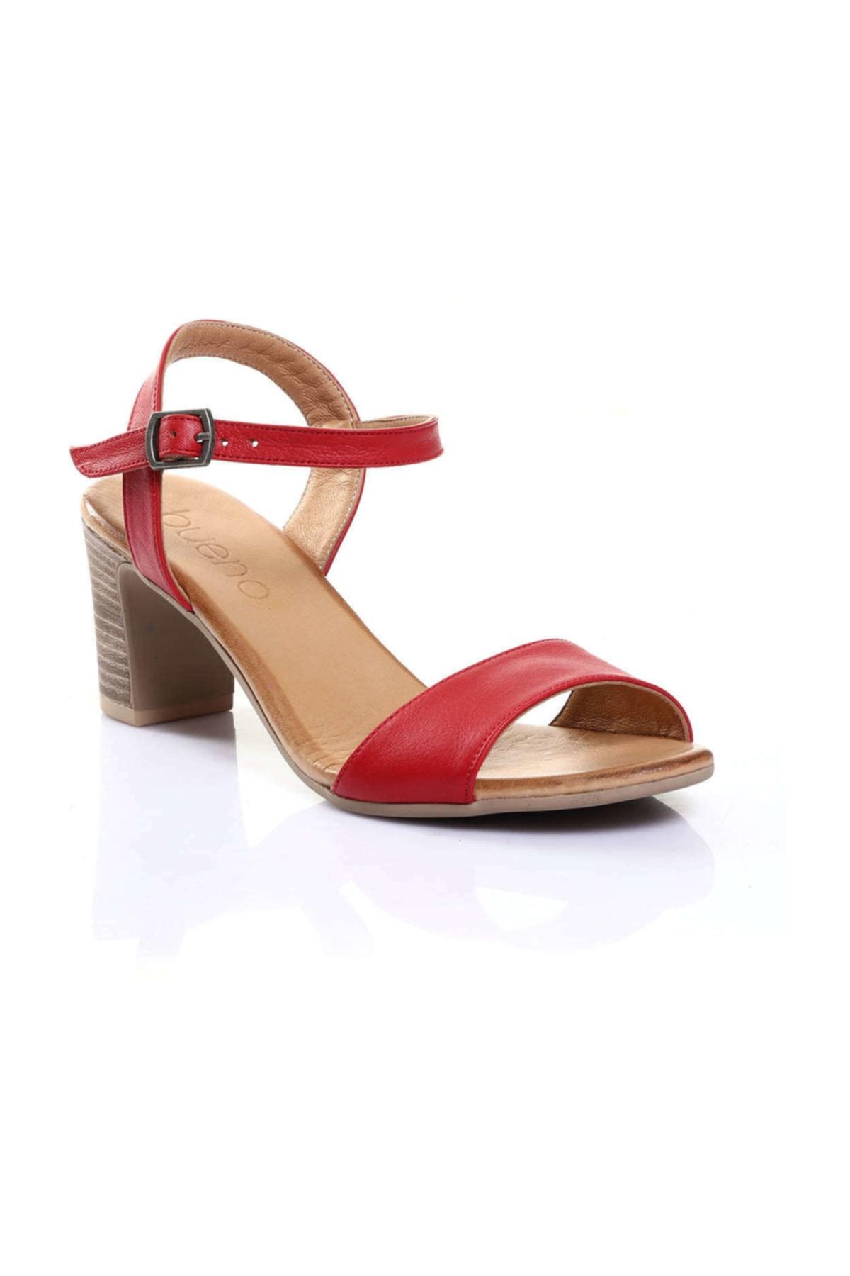 BUENO Shoes Siyah Kadın Sandalet 9n1506 2
