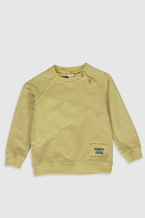 LC Waikiki Erkek Bebek Sarı Fw8 Sweatshirt