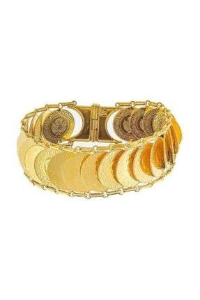 BİLEZİKHANE Ziynet Çeyrekli Kaykay Bileklik 56,00 gr 22 Ayar Altın