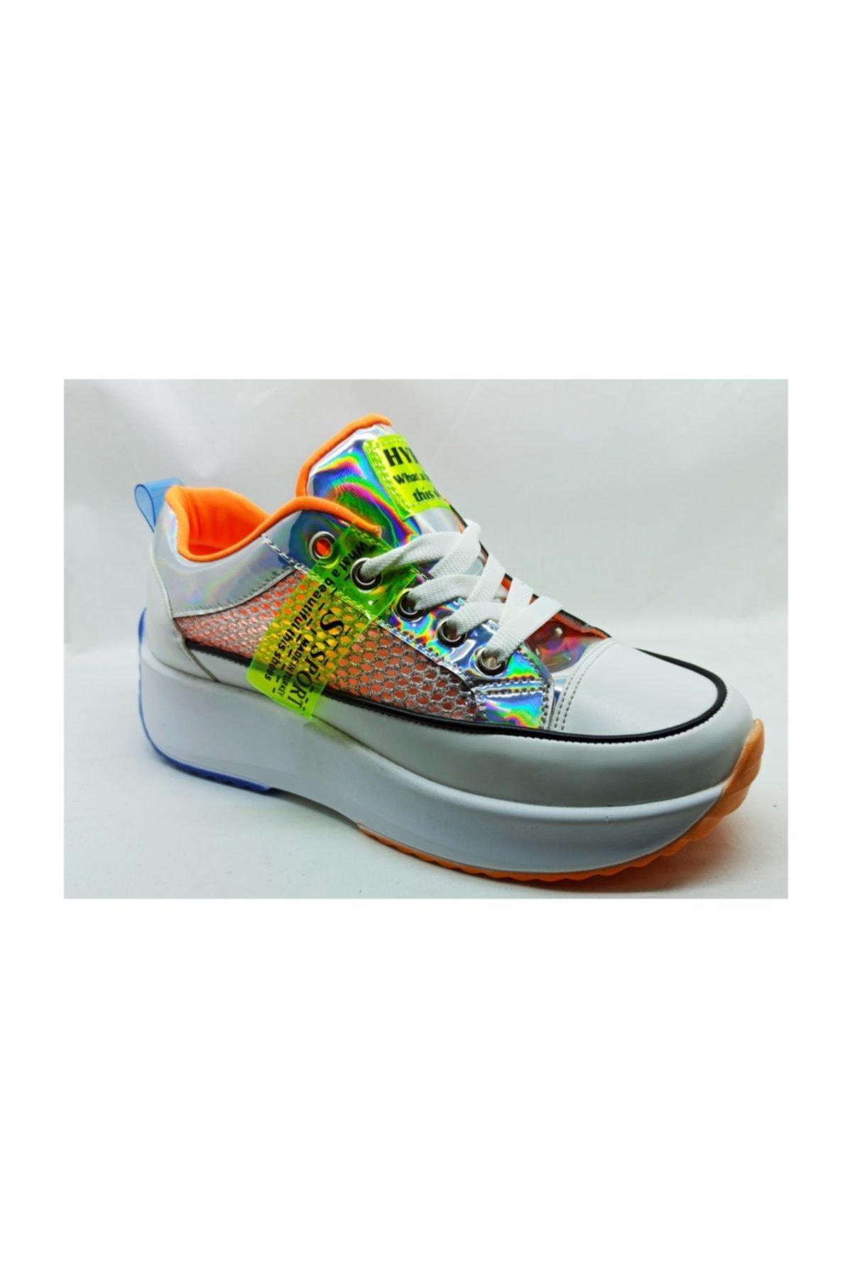 PUNTO Kadın Rahat Günlük Sneakers 431023 1
