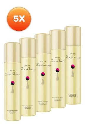 AVON Far Away Kadın Deodorant 5'li Set 5050000100717