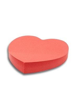 Ofisle Kırmızı Kalpli Yapışkanlı Not Kağıdı 60*70 mm 100 Yaprak