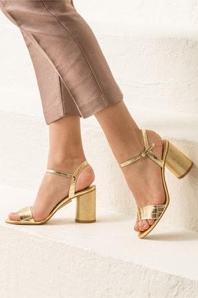 Elle Shoes SYLVIAA Gold Kombin Kadın Sandalet