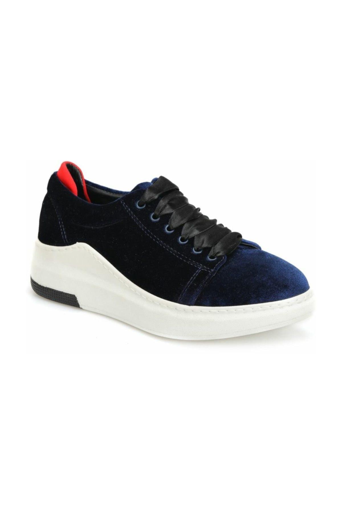 Butigo 18K-261 Lacivert Kadın Sneaker Ayakkabı 100338368 1