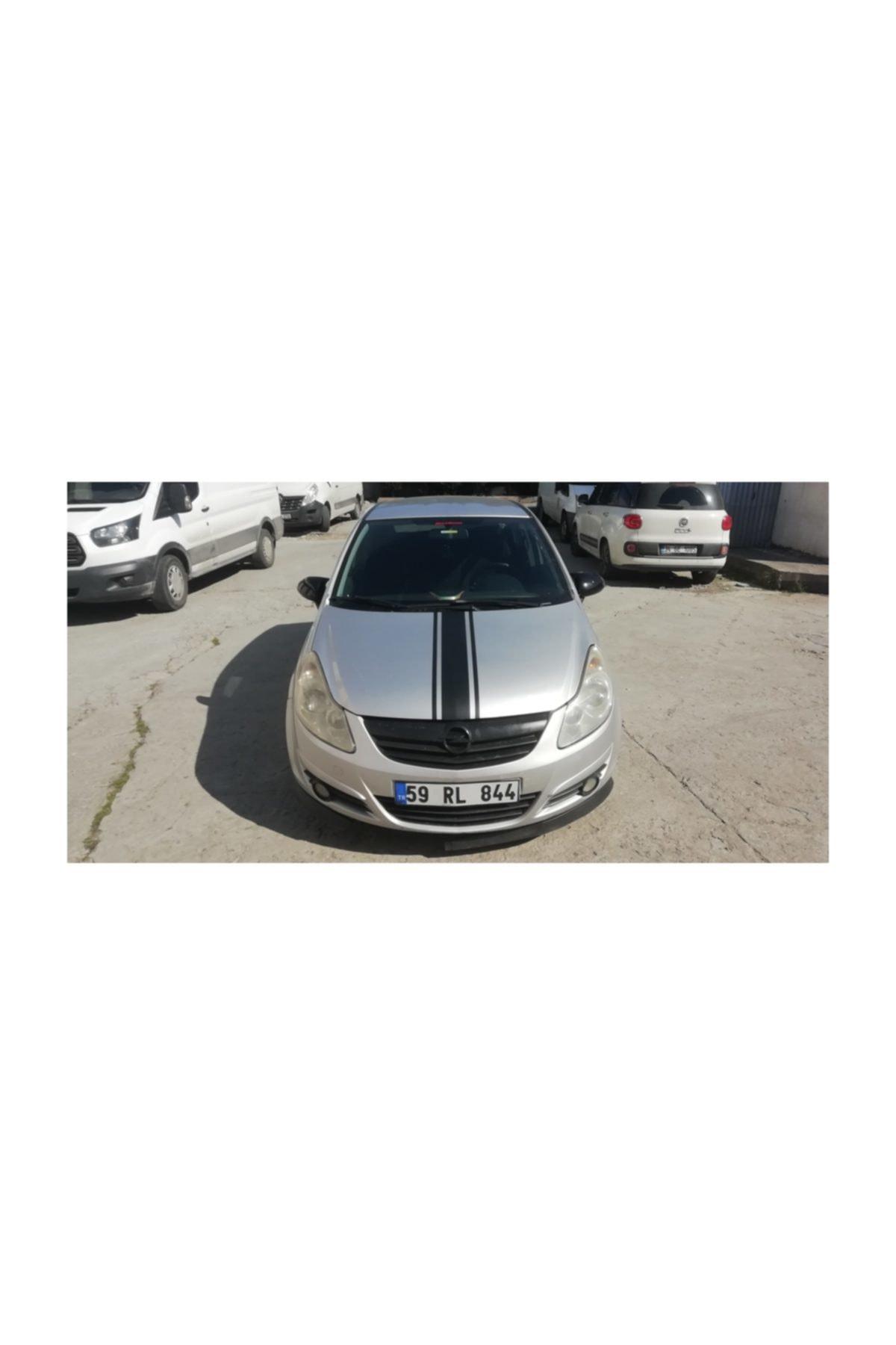 DP Opel Corsa D Yarasa Ayna Kapağı Parlak Siyah (2006 - 2014) 1
