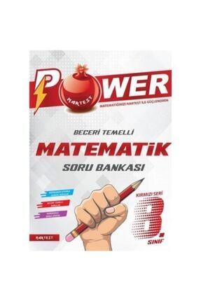 NARTEST 8. Sınıf Kırmızı Power Matematik Soru Bankası