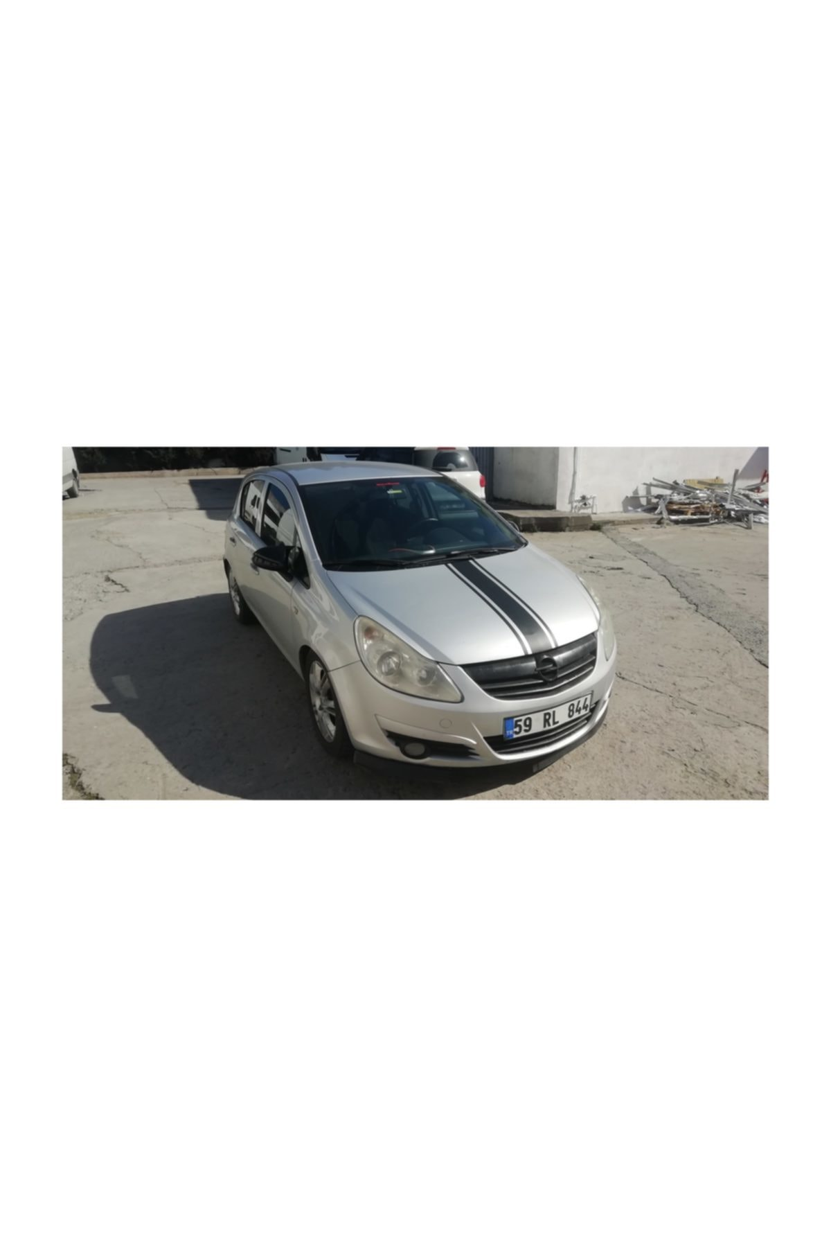 DP Opel Corsa D Yarasa Ayna Kapağı Parlak Siyah (2006 - 2014) 2