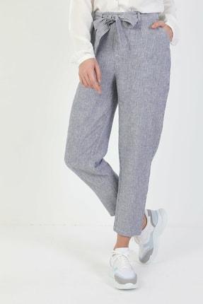 Colin's Regular Fit Orta Bel Düz Paça Kadın Mavi Pantolon