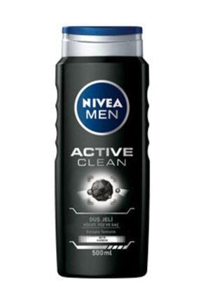 Nivea Men Active Clean Erkek Duş Jeli 500 Ml