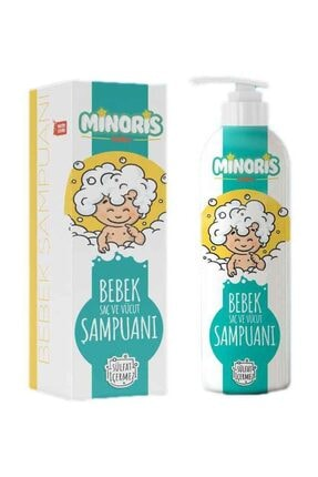 Minoris Bebek Saç Ve Vücut Şampuan 400 ml