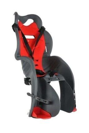 OEM Unisex Çocuk Gri-Kırmızı Htp Design Italyan Bisiklet Koltuğu Bagaja Montaj