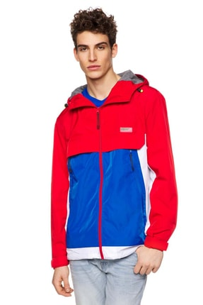 United Colors of Benetton Erkek Kapşonlu İnce Mont 312012IW753EA8-901