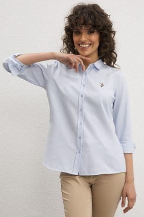 U.S. Polo Assn. Kadın Gömlek G082GL004.000.990708