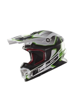 LS2 MX456 COMPASS YESIL KASK