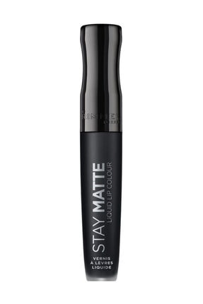 RIMMEL LONDON Ruj - Stay Matte Liquid Lipstick 840 Pitch Black