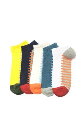 TRENDYOL MAN Çok Renkli 5'li Paket Erkek Çorap TMNSS20CO0048