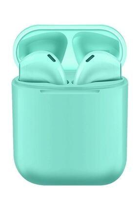 Tws Airpods i12 TWS Mavi iPhone Android Universal Bluetooth Kulaklık HD Ses Kalitesi