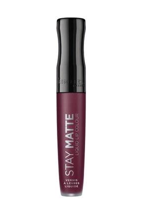 RIMMEL LONDON Ruj - Stay Matte Liquid Lipstick 800 Midnight