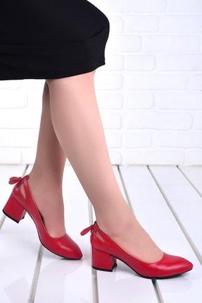 Ayakland Kadın Günlük 5 Cm Topuk Cilt Ayakkabı 544-1150