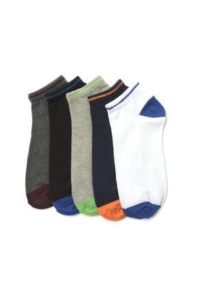 TRENDYOL MAN Çok Renkli Erkek 5'li Paket Çorap TMNSS20CO0044