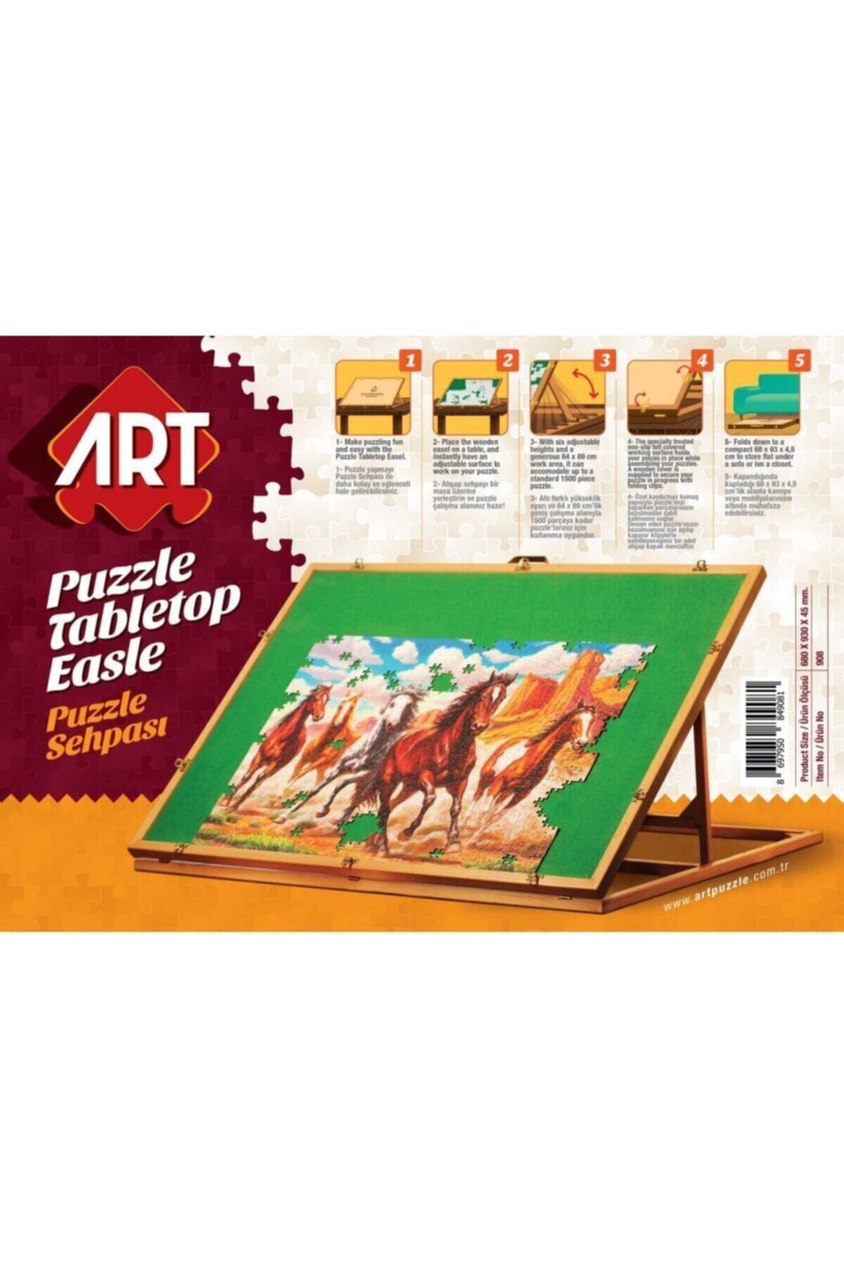 Art Puzzle Puzzle Sehpası (ahşap) 2