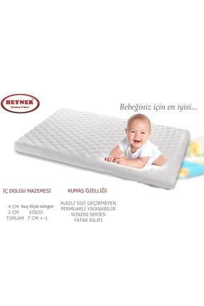 Heyner Alezli Visco Oyun Parkı Yatağı 60x120 Cm Sepet Beşik Yatağı