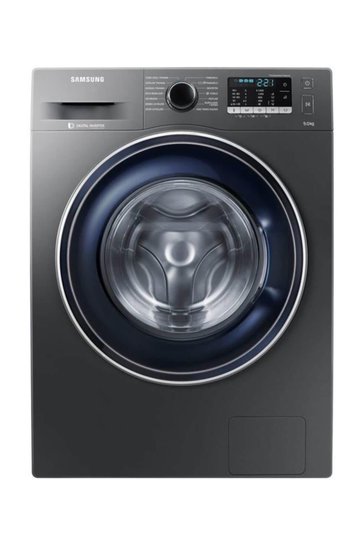 Samsung WW90J5475FX A+++ 9 Kg 1400 Devir Çamaşır Makinesi 1