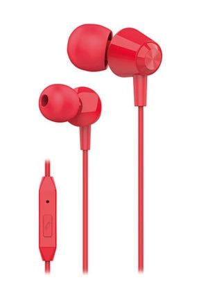 S-LINK Sl-ku160 Mobil Telefon Uyumlu Kırmızı Kulak Içi Mikrofonlu Kulaklık