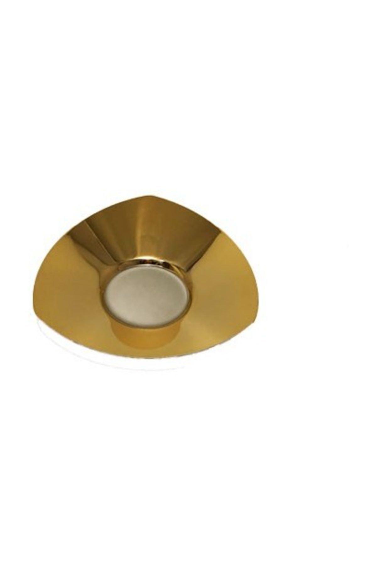 Narin Star Gold 12 Adet Çay Tabağı Altın Dekorlu Tabak A74126 1