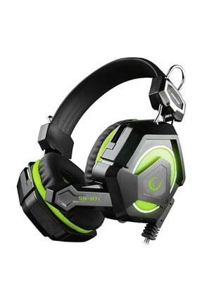 Snopy Rampage SN-R71 Ledli Gaming Oyuncu Mikrofonlu Kulaklık Yeşil