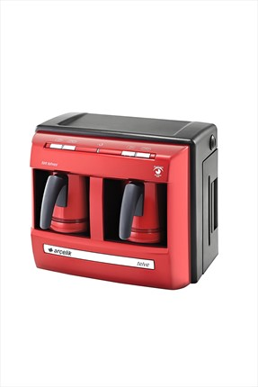 Arçelik Çiftli Lal Türk Kahve Makinesi K-3190P-1