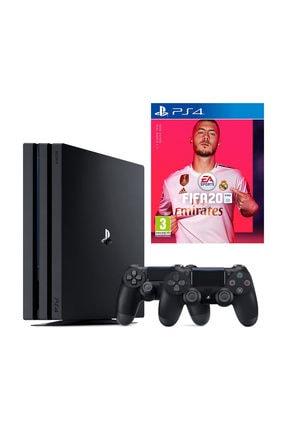 Sony Playstation 4 Pro 1 TB + 2. PS4 Kol + PS4 Fifa 2020