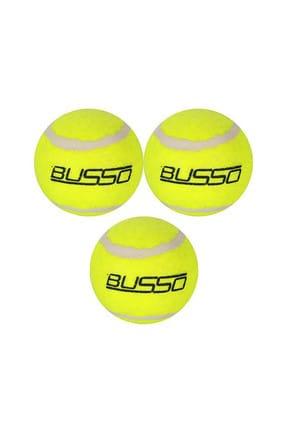 BUSSO CB-30 Tenis Topu Filede 3'Lü