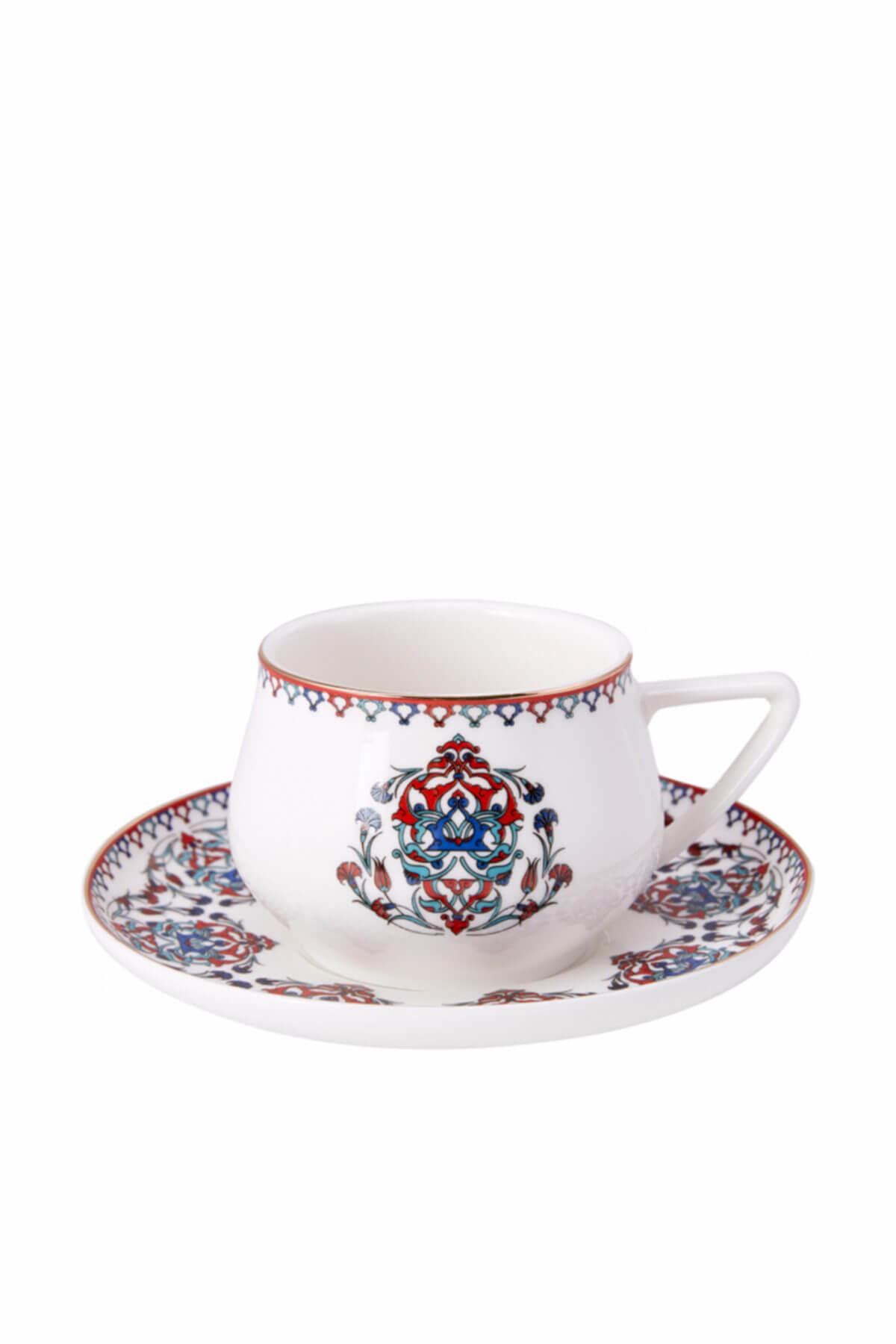 Karaca Nakkaş 4 Kişilik Çay Fincan Takımı 1