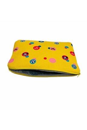 MOMSTAR Unisex Sarı Desenli Su Geçirmez  Tablet Çanta Kılıf