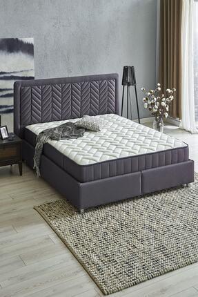 Yataş Bedding Wool Sense Set 3'lü Yatak Baza Başlık Set (kumaş - Marin)