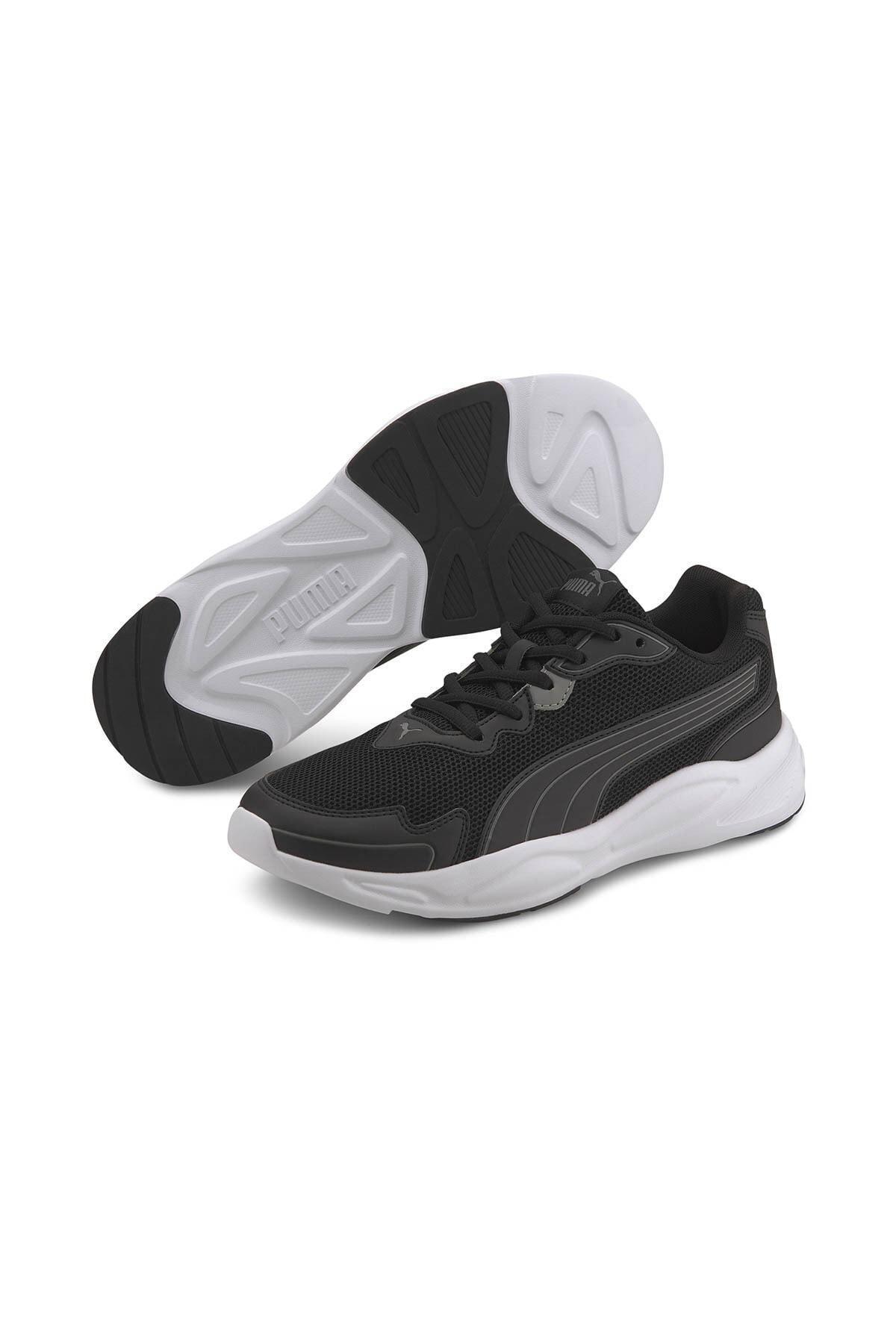 Puma 90S RUNNER NU WAVE Siyah Erkek Sneaker Ayakkabı 100649293 1