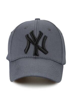 NuxFah Unisex Füme  New York Şapka Şapka