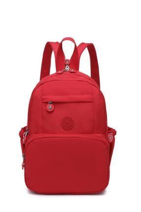 SMART BAGS Smbyb1083-0019 Kırmızı Kadın Küçük Sırt Çantası