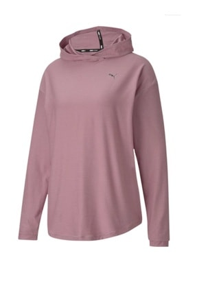 Puma Kadın Spor Sweatshirt - Studio Knit Foxglove Heather - 51951301