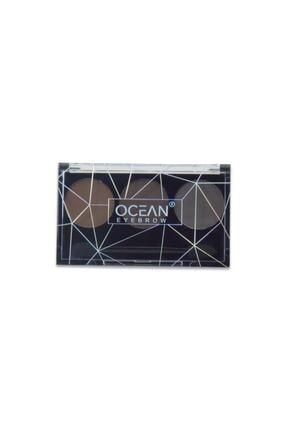 Ocean Soft Color Parça Kaş Far Paleti  3 Lü