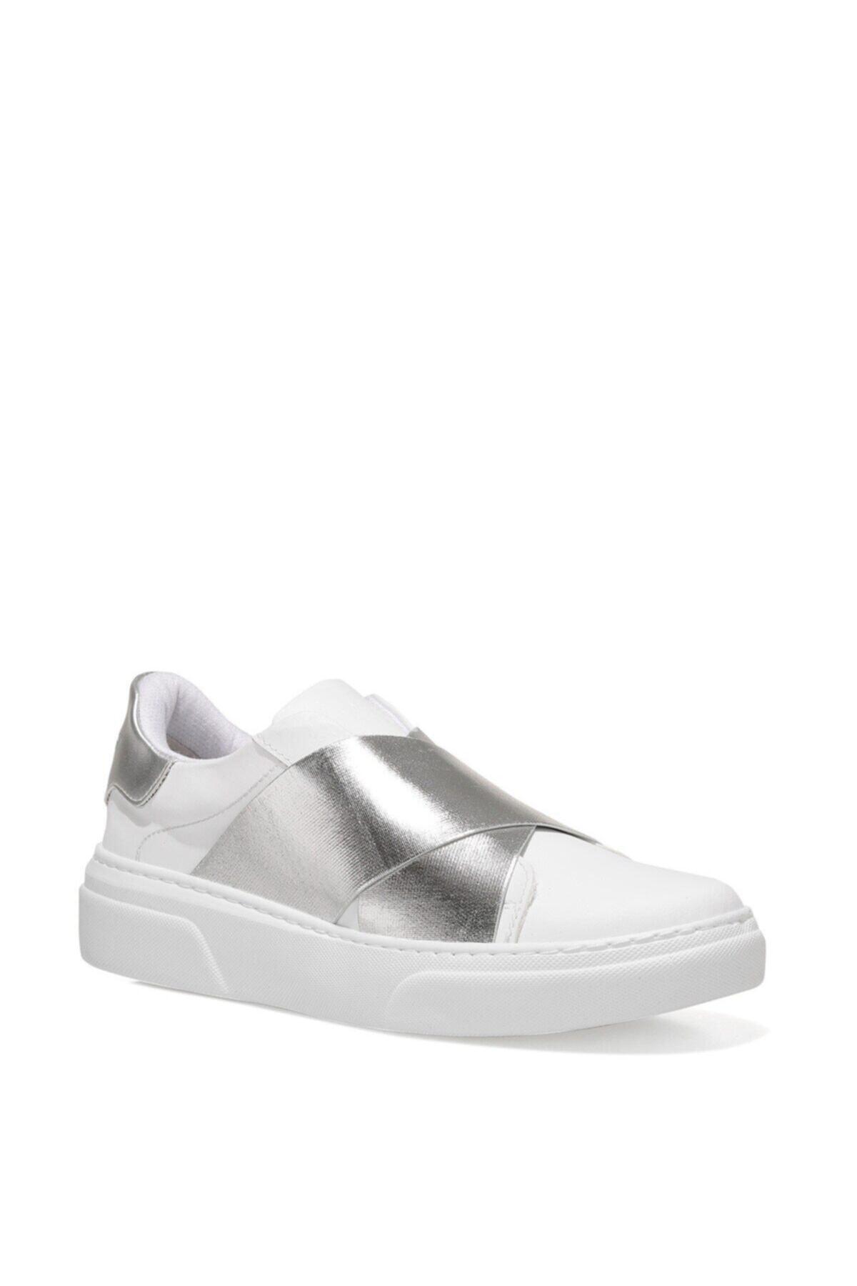 Nine West Gopcha 1fx Beyaz Kadın Havuz Taban Sneaker 2