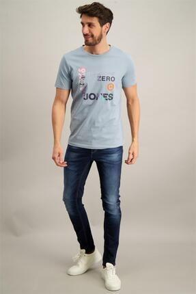 Jack & Jones Onu Yazılı Sekıllı 0 Yaka Kısa Kol T-Shirt12182616