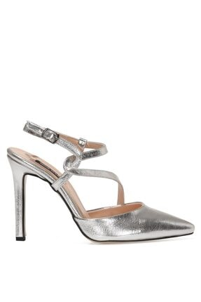 Nine West TUMLA 1FX Gümüş Kadın Gova Ayakkabı 101011956