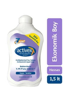 Activex Antibakteriyel Sıvı Sabun Hassas 1.5 Lt
