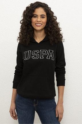 U.S. Polo Assn. Siyah Kadın Sweatshirt