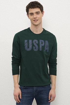 U.S. Polo Assn. Yesıl Erkek Sweatshirt G081Sz082.000.1219202