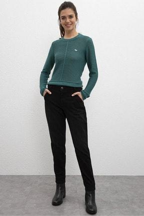 U.S. Polo Assn. Siyah Kadın Denim Pantolon
