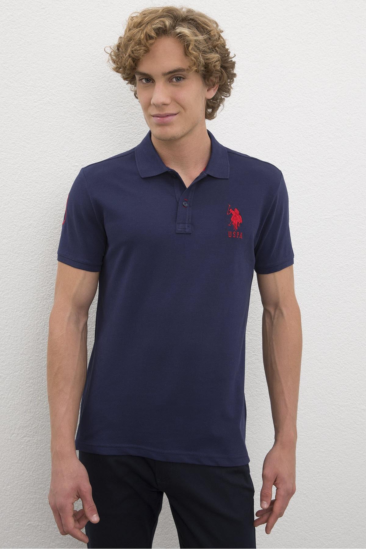 U.S. Polo Assn. Lacıvert Erkek T-Shirt 1